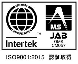 Intertek JAB CM057 ISO9001