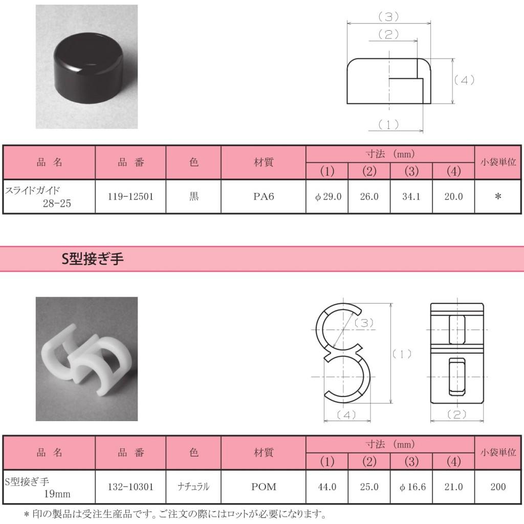 9-2.スライドガイド / S型接ぎ手